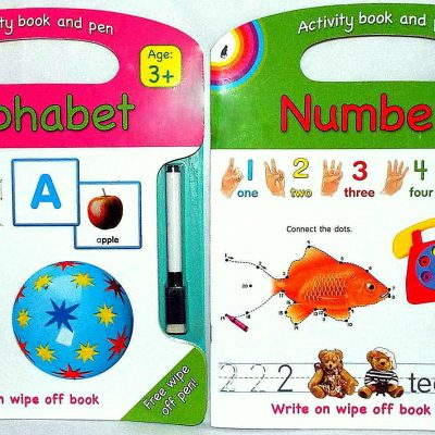 Alphabet Write & Wipe 2 Set