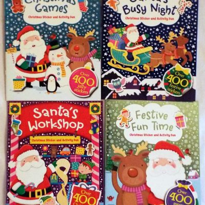Santas Busy Night 4Set