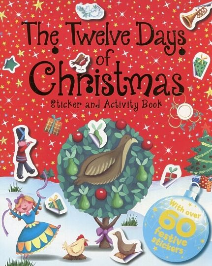 Twelve Days Of Christmas Book.The Twelve Days Of Christmas Activity Set Of 4